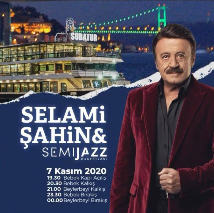 کنسرت خواننده ترکیه ای استانبول سلامی شاهین اکتبر ۲۰۲۰